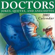 Cover of: Doctors Jokes, Quotes, and Anecdotes 2003 Block Calendar |