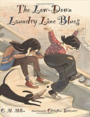 Cover of: The low-down laundry line blues by C. M. Millen