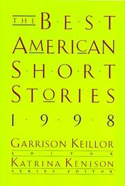 Cover of: The Best American Short Stories 1998 (Best American Short Stories)