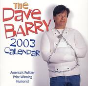 Cover of: The Dave Barry 2003 Block Calendar: America's Pulitzer Prize-Winning Humorist