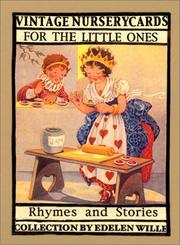 Cover of: Vintage Nursery Cards For The Little Ones