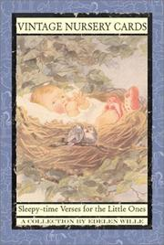 Cover of: Vintage Nursery Cards