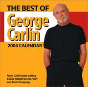 Cover of: The Best Of George Carlin 2004 Day-To-Day Calendar