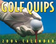 Cover of: Golf Quips 2004 Mini Day-To-Day Calendar | n/a