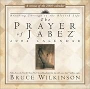 Cover of: The Prayer Of Jabez 2004 Day-To-Day Calendar