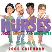 Cover of: Nurses: Jokes, Quotes, and Anecdotes
