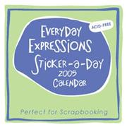 Cover of: Everyday Expressions Sticker-a-Day