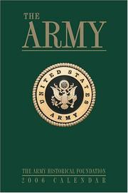 Cover of: The Army