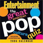 Cover of: The Great American Pop Culture Quiz