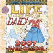 Cover of: Mary Engelbreit's Life is Just So Daily 2007 Wall Calendar