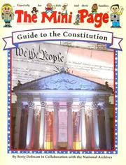 Cover of: The Mini Page Guide to the Constitution