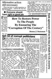 "Cover of: How to Restore Power to the People by Ensnaring The ""Corruption of the Century"