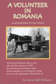 Cover of: A Volunteer in Romania