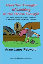 Cover of: Have you Thought of Looking in the Horse Trough?