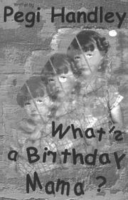 Cover of: What's a Birthday Mama?