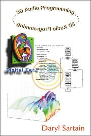 Cover of: 3D Audio Programming