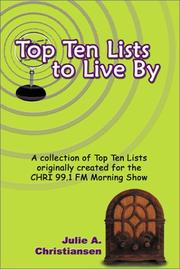 Cover of: Top Ten Lists to Live By
