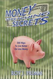 Cover of: Money Stretching Secrets