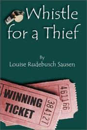 Cover of: Whistle For a Thief