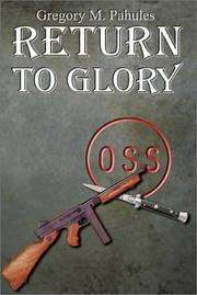 Cover of: Return to Glory