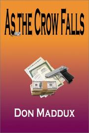 Cover of: As the Crow Falls