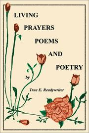 Cover of: Living Prayers, Poems and Poetry