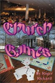 Cover of: Church Games