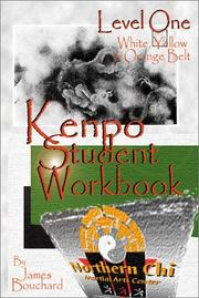 Cover of: Kenpo Student Workbook Level 1