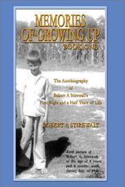Cover of: Memories of Growing Up