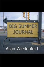 Cover of: Big Summer Journal