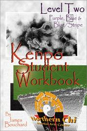 Cover of: Kenpo Student Workbook Level 2