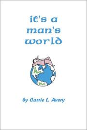 Cover of: It's a Man's World