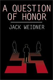 Cover of: A Question of Honor