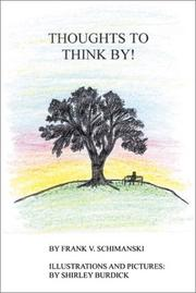 Cover of: Thoughts to Think By