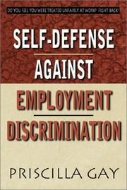 Cover of: Self-Defense Against Employment Discrimination