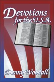 Cover of: Devotions for the U.S.A