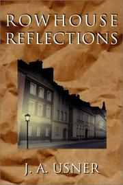 Cover of: Rowhouse Reflections