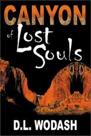 Cover of: Canyon of Lost Souls