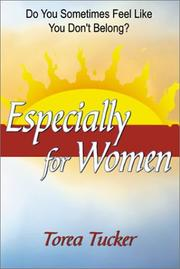 Cover of: Especially for Women