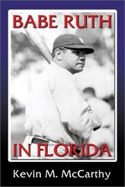 Cover of: Babe Ruth in Florida