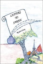 Cover of: Letters to Sarah