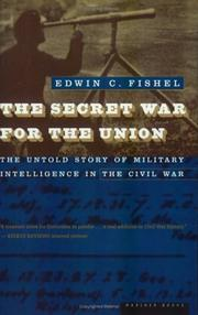 Cover of: The Secret War for the Union