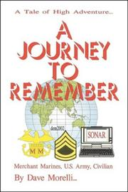 Cover of: A Journey to Remember