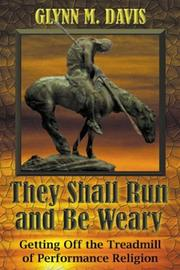 Cover of: They Shall Run and Be Weary