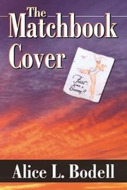 Cover of: The Matchbook Cover