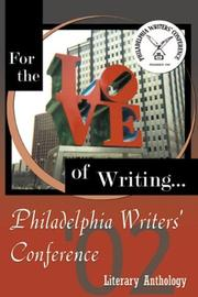 Cover of: The Philadelphia Writer's Conference 2002 Literary Anthology