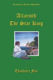 Cover of: Allarinth The Star King