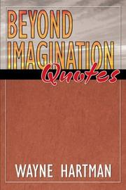 Cover of: Beyond Imagination Quotes