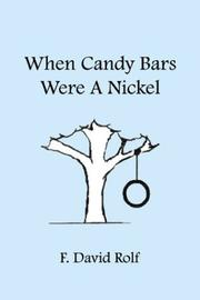 Cover of: When Candy Bars Were a Nickel