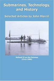 Cover of: Submarines, Technology, and History
